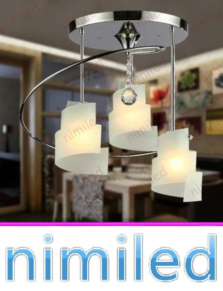 nimi1126 3-Light Modern Restaurant Dining Room Lights Creative Romantic Bedroom Ceiling Lighting Bar Chandelier Hotel Pendant Lamps Lighting