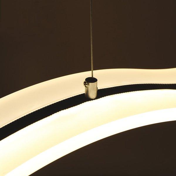 LED Modern Minimalistischen Restaurant Lampen Schlafzimmer Wohnzimmer Esszimmer Bar Wellig Acryl Dekorative Pendelleuchte