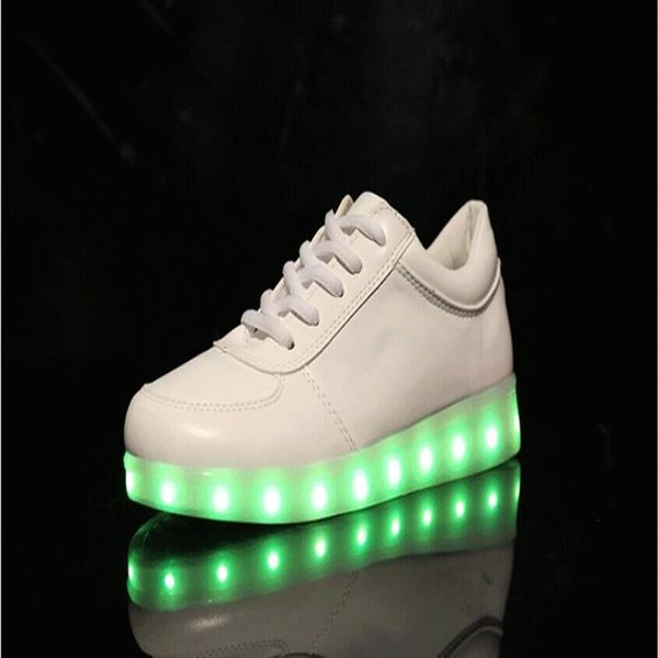LED Shoes In White color