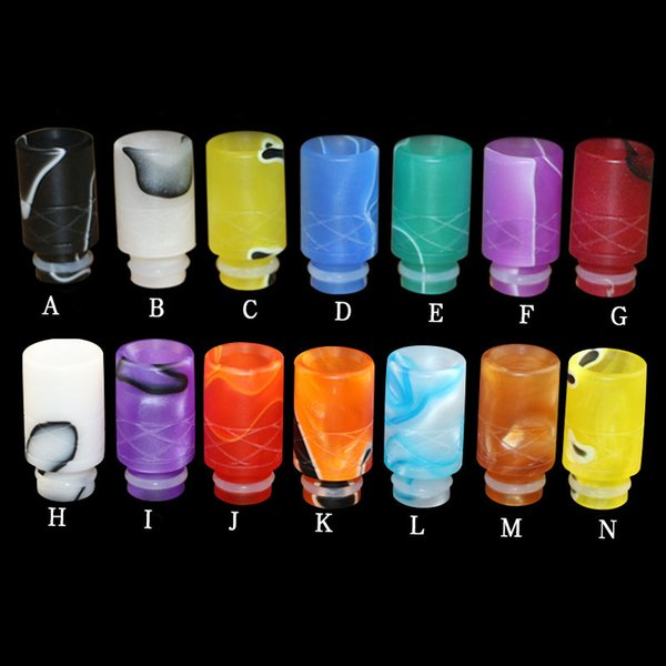 Colorful Acrylic Drip Tips Wide Bore Drip Tip 510 EGO Atomizer Mouthpieces for CE4 CE5 CE6 Protank EVOD EGO T electronic cigarettes Atomizer