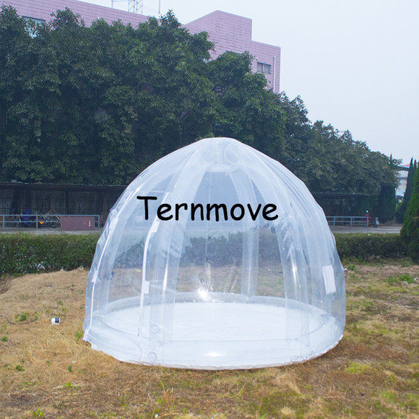 pvc garden inflatable tent,events outdoor inflatable tent,hot sale inflatable transparent yerd tent, trade show and event tents