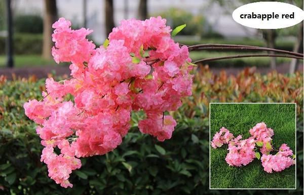4 bifurcations double petals crabapple