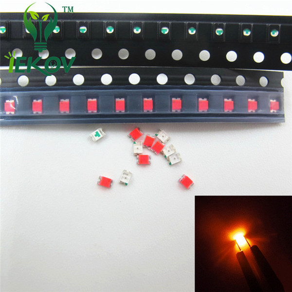 5000pcs 0805 SMD Orange/Amber LED Super Bright Light Diode High Quality SMT Chip lamp beads Suitable for DIY bicycle and Car