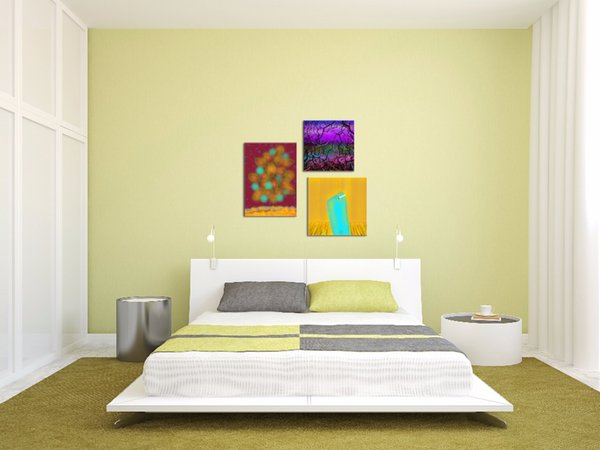 Modern Home Decorative Painting Abstract Canvas Art Wall Hanging ...