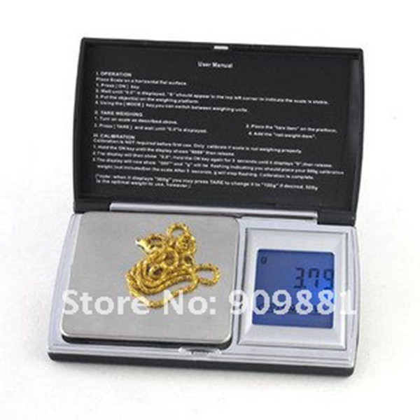 200g 0.01g LCD Digital Diamond Jewelry Scale Stainless Steel Pocket Food Diet Kitchen Scales Cooking Tools Touch Screen