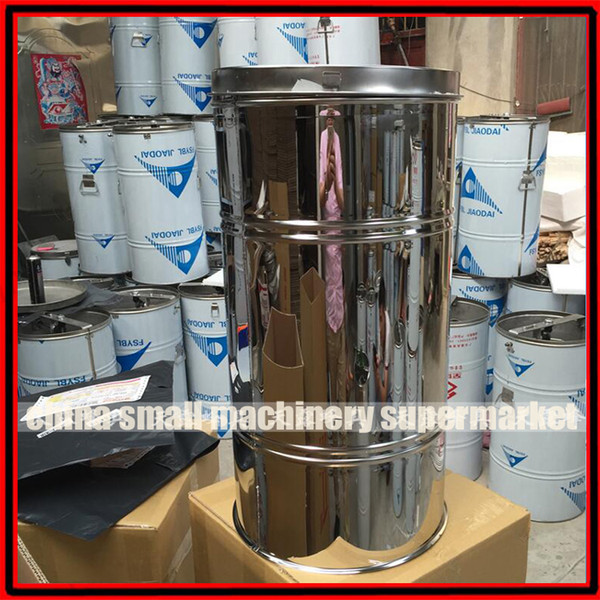 2018 Low Price 2 Frames Stainless Steel Manual Honey Extractor ...