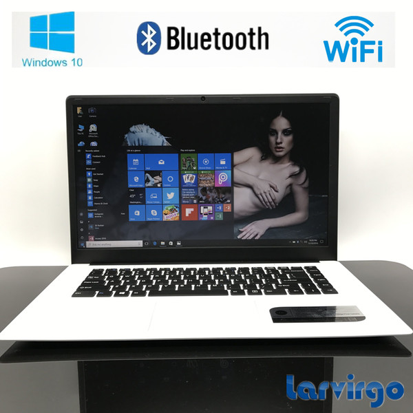 15.6 inch 4G RAM 64G SSD In-tel Atom X5-Z8300 Windows10 HDMI WIFI System Laptop with 8000mAh high Battery USB3.0 webcam camera