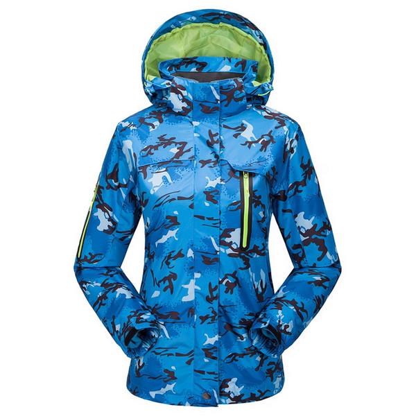 Wholesale-2015 New Womens Ski Coat Winter Sports Outdoor Jacket Womens Snowboard Snow Wear Skis Jacket