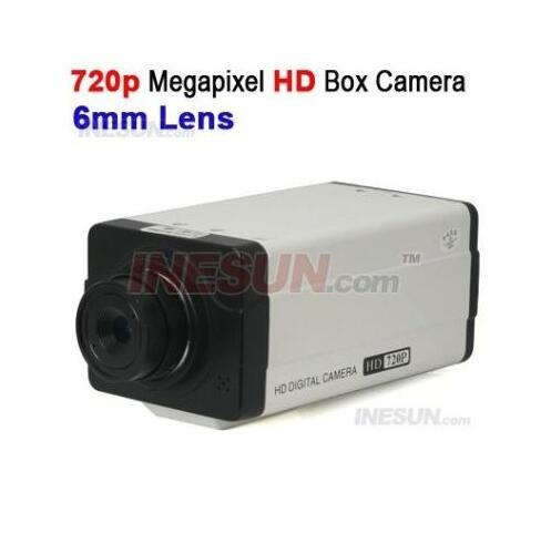 WAPA CCTV 1/3 CMOS 1 Megapixel 720P 6mm Lens PoE HD Box Network IP Camera DDNS