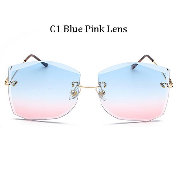 C1 Blue Pink Lens