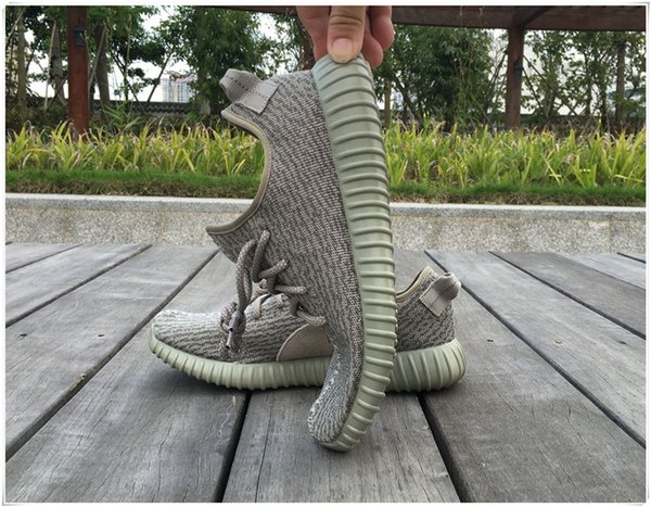 Kanye West Boots Moonrock Kanye West Shoes Fashion Men & Women oxford tan turtle dove pirate black Boots with Receipt and Box