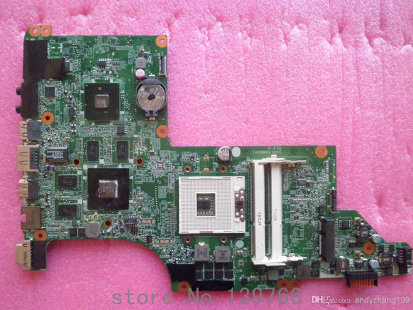 best selling 630278-001 for HP pavilion DV6 DV6T motherboard with intel DDR3 chipset ATI 5650 1GB