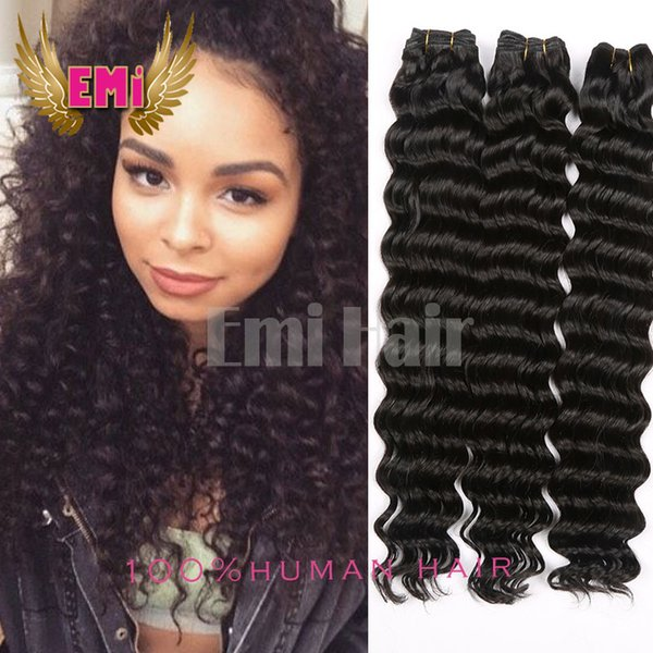 Magic Hair Top Quality Brazilian Virgin Deep Curl Wave 3 Bundles