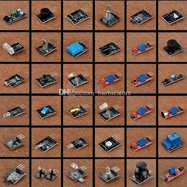 Ultimate 37 in 1 Sensormodul-Kit KY-011 KY018 für Arduino MCU Education B00308 OSTH