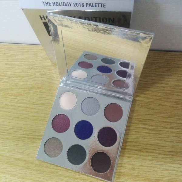 KL Holiday Edition Eyeshadow Palette kyshadow ombretto in polvere pressato Master 9 Colors Shadow Palette Makeup Cosmestic regalo di Natale