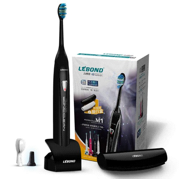 Evocators lebond m1 ultrasonic electric toothbrush induction charge type automatic adult toothbrush m1 speaker toothbrush samples