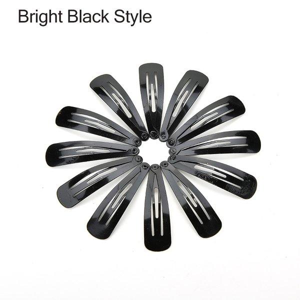 Estilo negro brillante