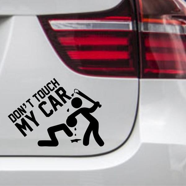 2019 Autoaufkleber Dont Touch My Car Nicht Anfassen Tuning Aufkleber Sticker From Xymy787 292 Dhgatecom