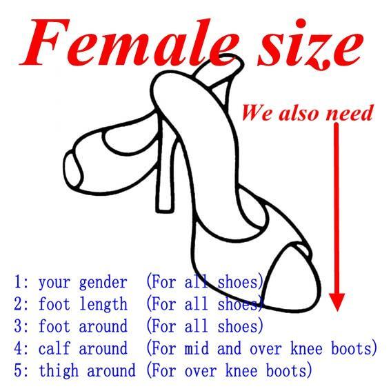 여성 크기