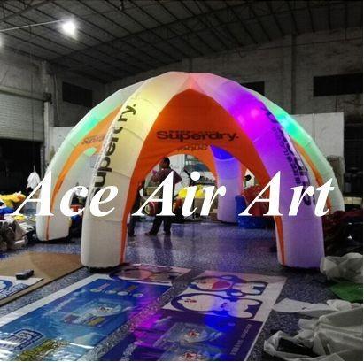 aufblasbares Haubenzelt der neuen Art populären Beleuchtung mit geführt für die Werbung, Ausstellung, Messe, Partei, Ereignis