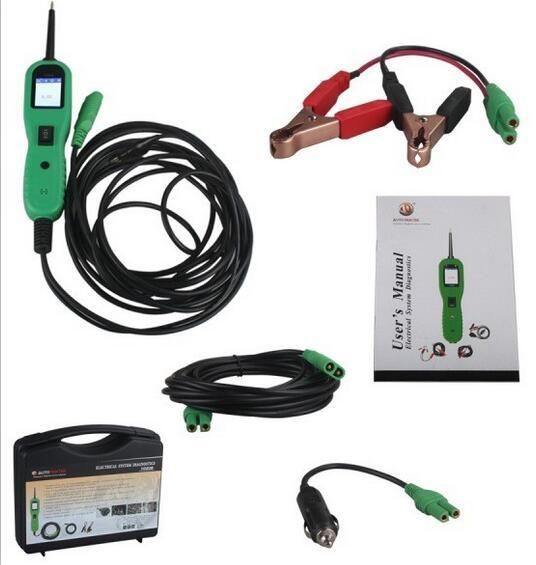 AUTEK YD208 Power Scan Function Same As AUTEL PS100 Electric Circuit Tester New Arrived YD208 Electrical System Diagnostics
