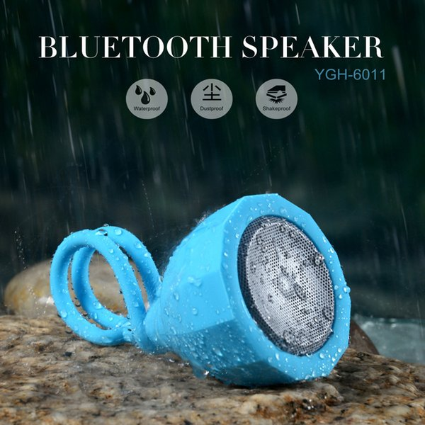 Riding Speaker Outdoor Lotus Pod Portable Waterproof Bluetooth Speaker with TF card play,Sling Mini Seedpod of the lotus Sport bike Speaker