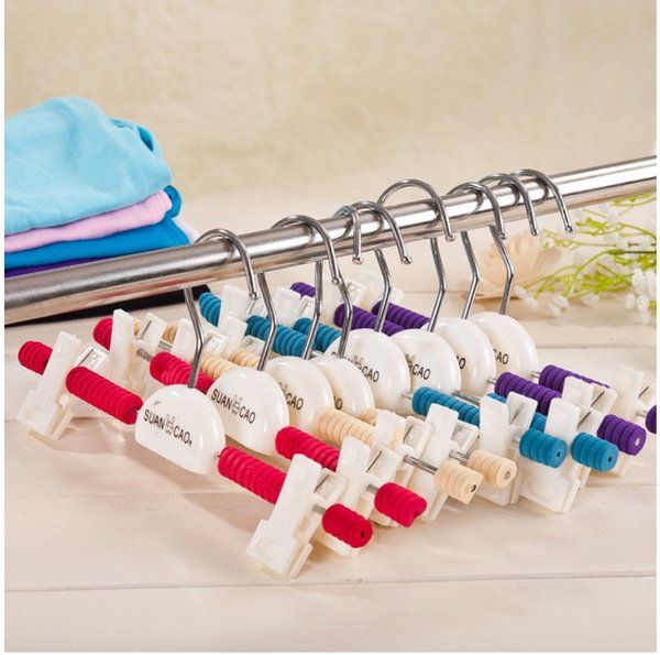 Kids Baby Children Trousers Rack Hangers Pants Clothes Plastic Hot Sales Brand New Good Quality Free Shipping