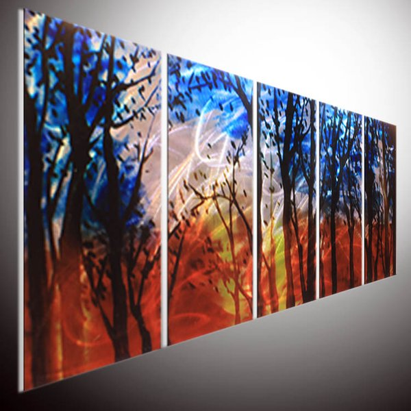 2019 Modern Contemporary Abstract Painting Abstract Wall Art Metal Wall Art Abstract Painting A Sculpture By Nider The Internationally Acclaimed From
