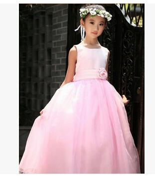 Formal Events Girl Dress Wedding Party Children's Dresses For Girl Lace Sequins Princess Tutu Dress Birthday Clothes For 2-7 ages