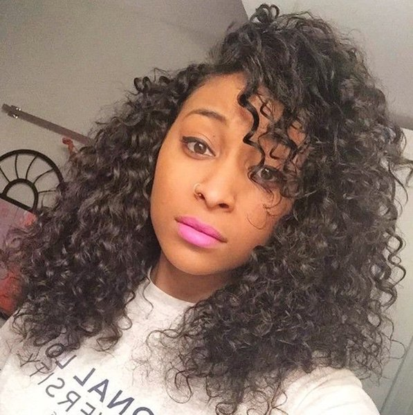 Brazilian Curly Lace Front Human Hair Wigs for Black Women Full Lace Wigs With Baby Hair Kinky Curly Lace Front Wigs