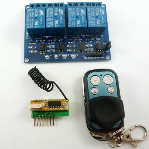 2019 433M 4Ch RF Wireless Remote Control Switch Relay Board For Arduino UNO  MEGA2560 From Liquor, $19 09 | DHgate Com