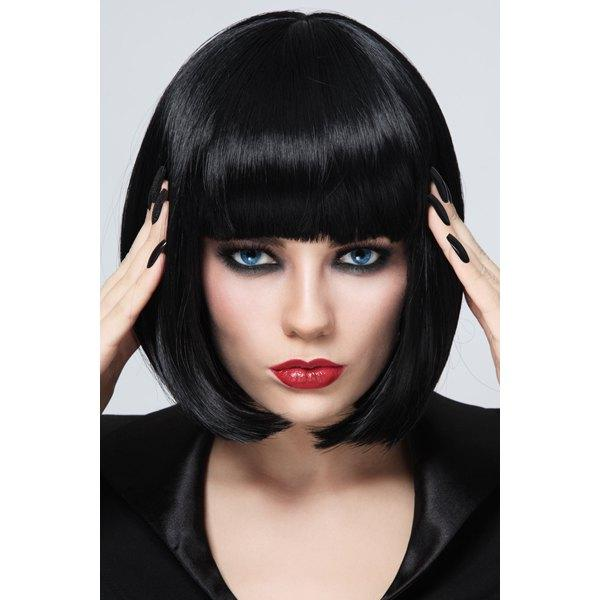 Full Lace Wigs Silk Straight Short Bob Style Full Lace Human Hair Wigs 100 % Brazilian Virgin Hair Human Hair Wigs For Black Women Weave Wig