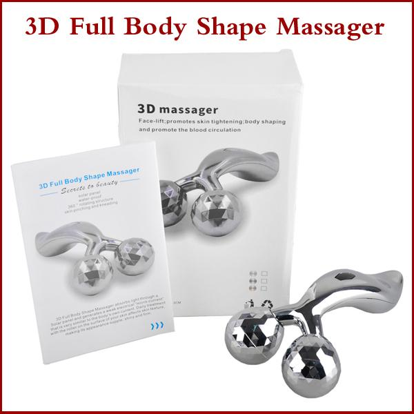 360° Rotate 3D Full Body Shape Massager for Face and Body Lifting Wrinkle Remover Y Shape Roller Massager Solar Refa Carat Massager Machine