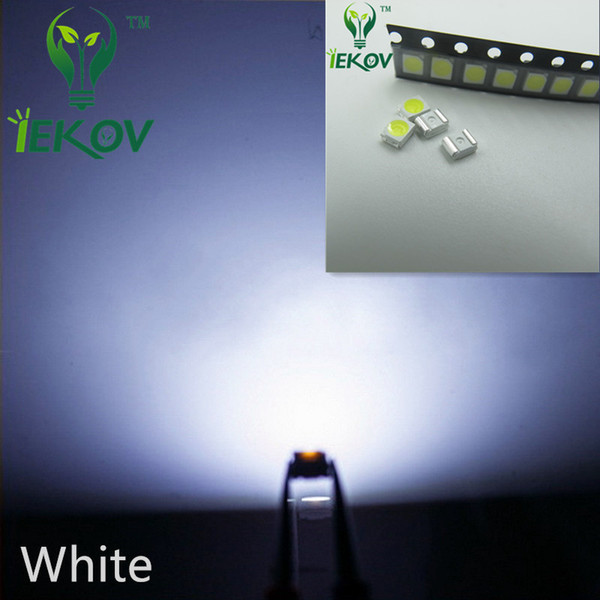 1000pcs 2835 0.2W SMD White LED Super Bright Light Diode High Quality SMT Chip lamp beads Suitable for bicycle and Car DIY