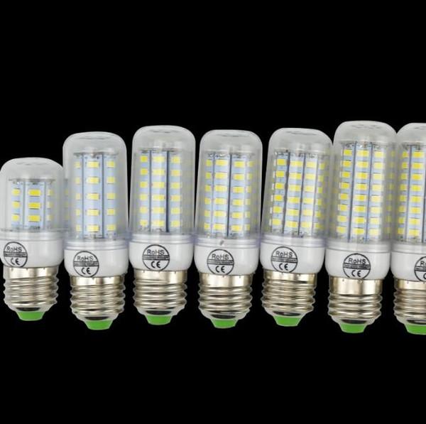E14 E27 G9 GU10 LED Corn Light Bulb 7W 12W 15W 18W 21W 30W SMD5730 LED Corn Lamp