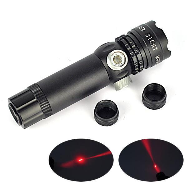 Fusillade tactique Red Laser Dot Sites Sites de fusil à l'extérieur Adjustmount