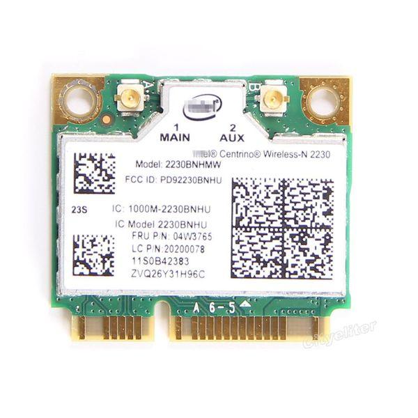 Wholesale- For thinkpad IBM B430 E330 E530 Y400 Y500 V580 FRU:04W3765 Intel Wireless-N 2230 2230BNHMW 300M Wifi Bluetooth 4.0 PCI-E Card