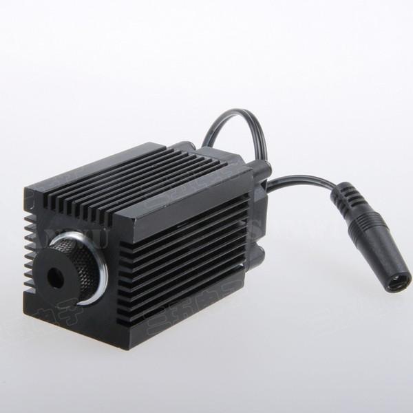 Moduli laser blu-viola 1000 mW / 1600 mW 1.6 W Obiettivo con supporto Dissipatore di calore per mini macchina per incisione laser ad alta potenza lunghezza d'onda 450nm