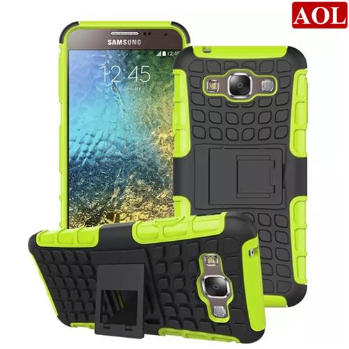 For Samsung Galaxy E7 E5 Grand Prime/G530 Core Prime/G360 Young 2/G130 Hybrid Kickstand Rubber Armor Hard PC+TPU 2in1 Cover Case