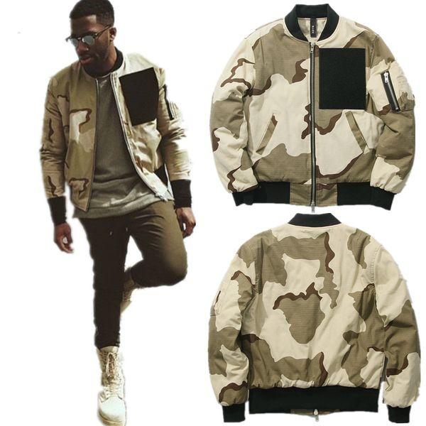 Camo Baumwolle Kleidung Großhandel Und Winter Add Hop Mäntel Bomber Streetwear Hip Ma1 Jacke Herren Herbst Oberbekleidung Wüste Jacken Army Von Liner ChrtdsQx