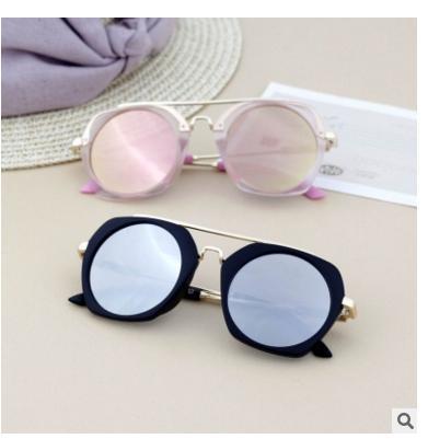 Korean Fashion New arrived baby Infant sunglasses Children UV400 Glasses boys Girls kids Toddler sun glasses adult Adumbral Round