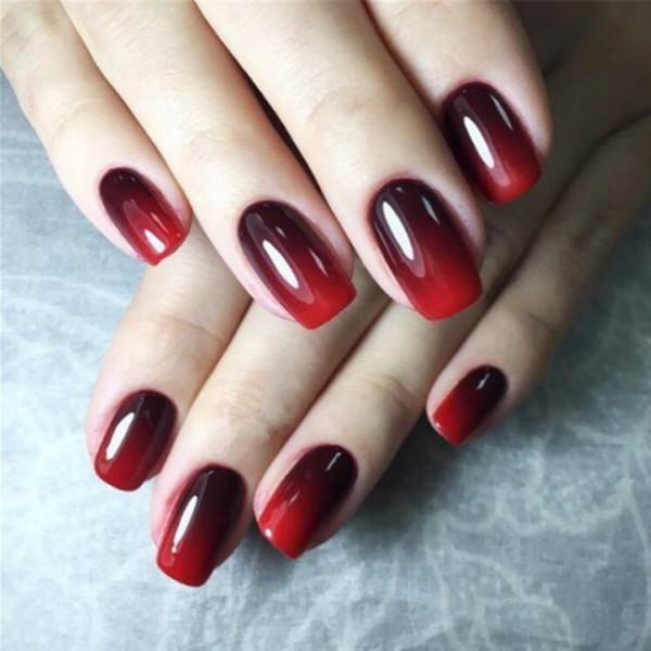 8ml Mood Changing Gel Nail Polish Long-Lasting Soak-Off Led UV Gel Lacquer Chameleon Nail Gel Manicure Varnish