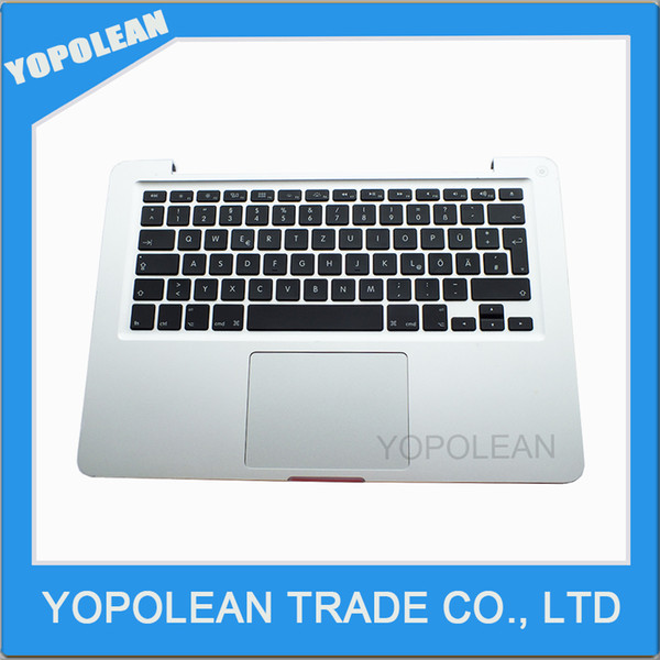 """Like New Topcase Palmrest with German Layout Keyboard and Trackpad for MacBook Pro 13"""" A1278 Top case GR"""