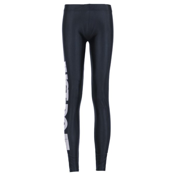 9afbad27840e0 Fashion Women's Sexy Just Do It Word Leggings Solid Color Pants Slim  Elastic Low Waist Leggings