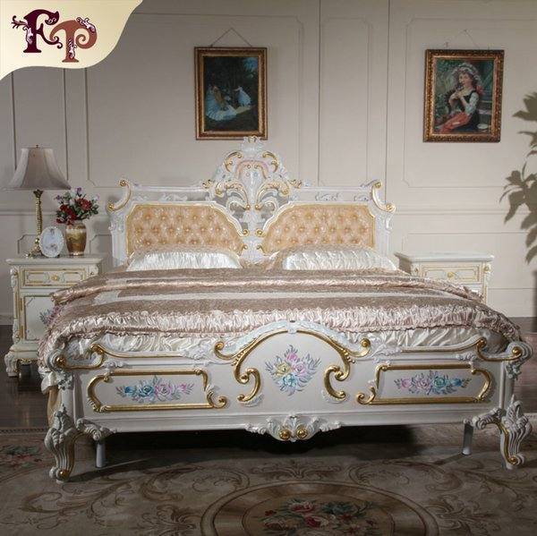 Acheter Lit Baroque De Mobilier De Villa Haut De Gamme Italien Mobilier  Classique De Luxe En Filiphs Palladio Made In China De $2638.2 Du ...