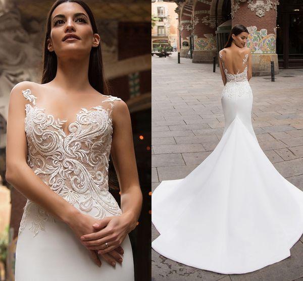 Großhandel Meerjungfrau Millanova 2017 Arabische Hochzeitskleider ...