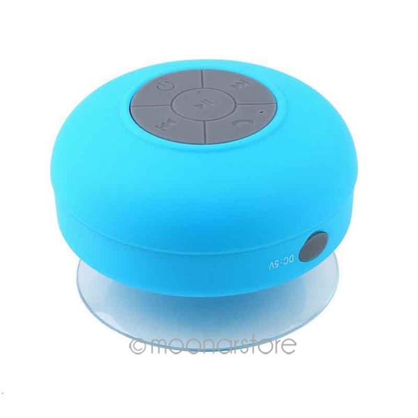 Atacado-Resistente À Água Mini Portátil Chuveiro Bluetooth Speaker com Função de Chamadas Mãos-livres de Suporte Otário para Telefone Móvel