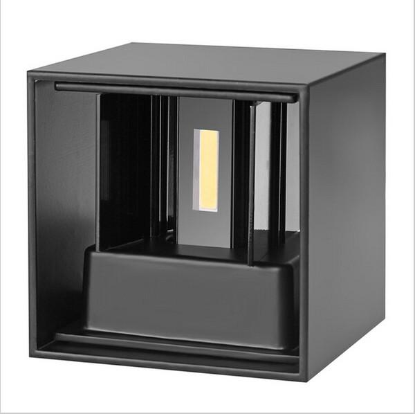Acheter 6W Led Lampes Murales Réglable En Hauteur Éclairage Surface  Imperméable À L\'eau Monté Mur Appliques En Aluminium Jardin Éclairage  Luminaire ...