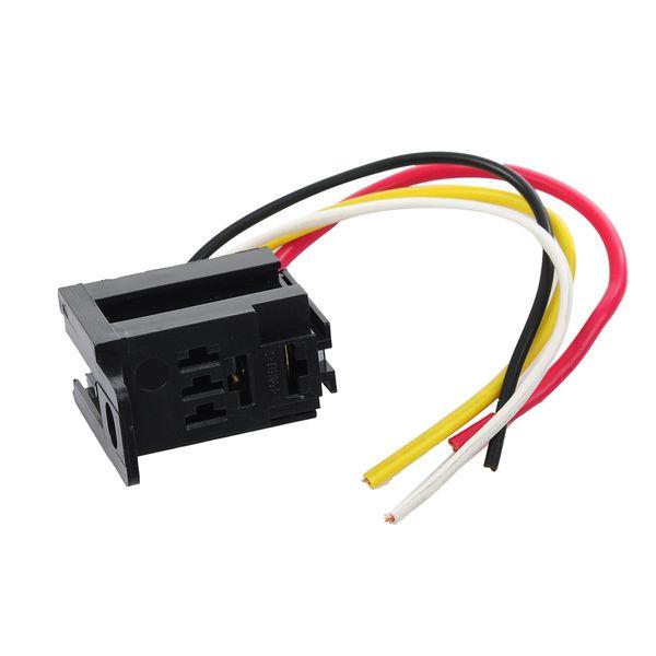 Relais de Puissance de Bobine CA 220V LY2NJ DPDT 8 Broches PTF08A JQX-13F avec Prise de Base /électronique Micro-commutateur de Module /électromagn/étique