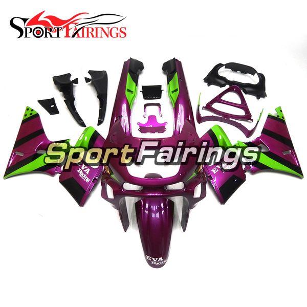 New Fairings For Kawasaki ZZR600 ZZR-400 93 94 95 96 97 Purple Green ABS Plastics Motorcycle Fairing Kit Bodywork Cowlings Injection